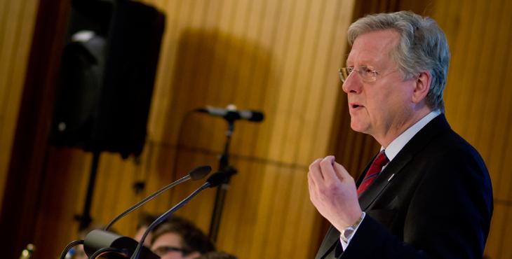 Professor Rektor Hans-Jochen Schiewer