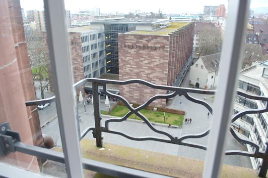 Beim Besuch des früheren Studentengefängnisses bot sich den Teilnehmern auch die Gelegenheit für einen einzigartigen Ausblick vom Uniturm.