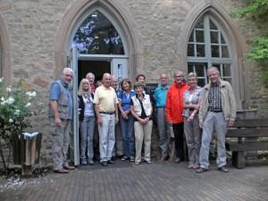 Gruppenbild vor der Ebernburg
