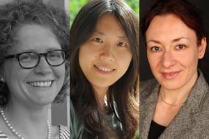 Antonia Egel, Dr. Wei Xu und Claudia Michel erhielten im Oktober ein Stay!-Stipendium. Fotos: privat