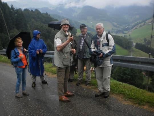 Club Rheinland auf Wanderung