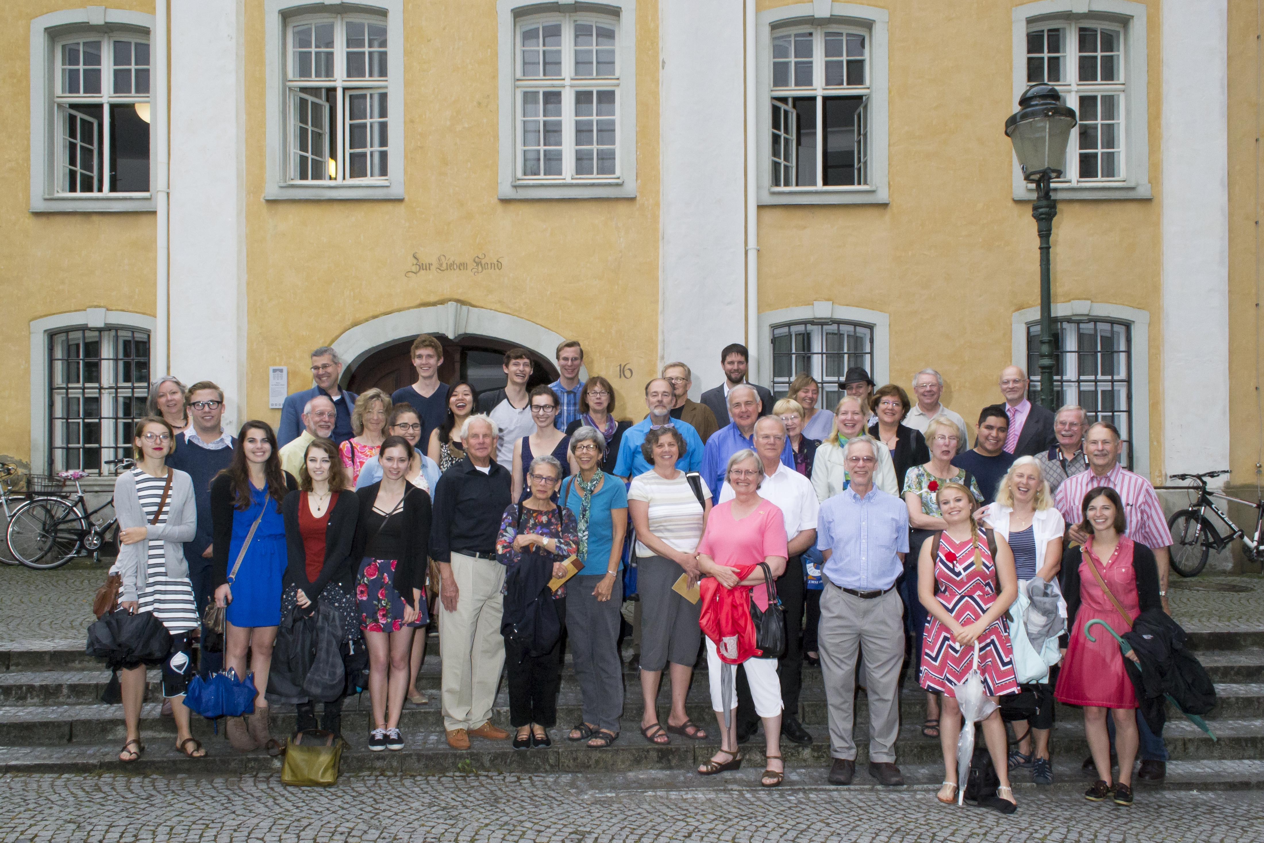 Amerikanische Alumni zu Besuch in Freiburg