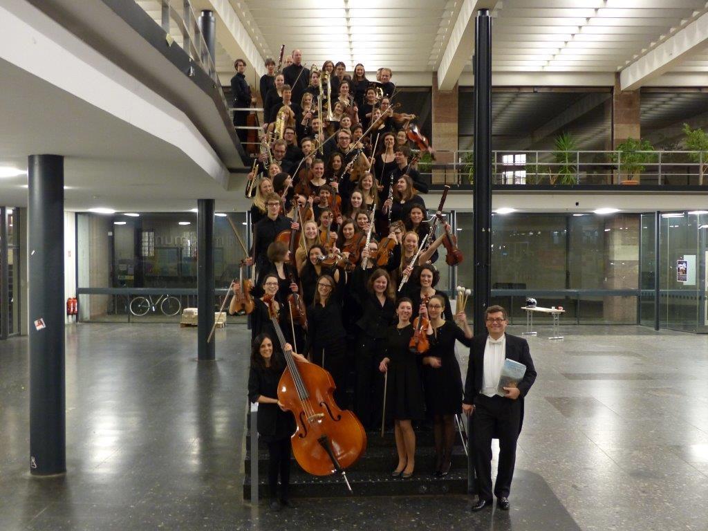Das Sinfonische Studentenorchester der Albert-Ludwigs-Universität Freiburg