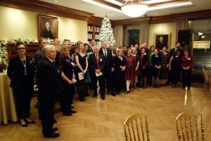 Die Alumni des New Yorker Alumni-Clubs. [Foto: Privat]