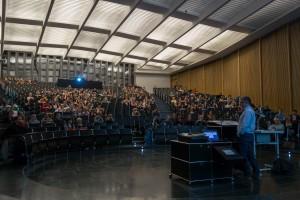 """Viele Hörer folgten der """"Langen Nacht der Universität"""". (Foto: Alumni)"""