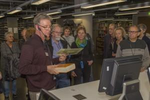 Modernste Technik ermöglicht die Ausleihe auf Knopfdruck in der neuen Universitätsbibliothek. [Foto: Alumni Freiburg]