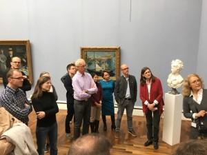 Besuch in der Neuen Pinakothek