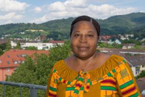 Marie Claudine Zangna am Alumni Meeting 2016. (Foto: Alumni Freiburg)