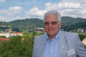 Hans-Joachim Stalf am Alumni Meeting 2016. (Foto: Alumni Freiburg)