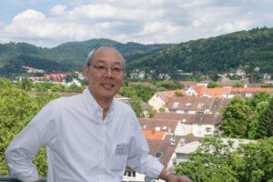 Professor Masahisa Deguchi am Alumni Meeting 2016. (Foto: Alumni Freiburg)