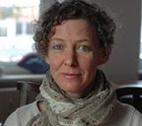 Autorenfoto Katharina Hacker (c) Renate von Mangoldt