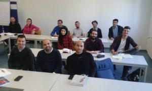 Sprachschüler erwerben am SLI der Universität Freiburg ihre Sprachzertifikate für das Studium in Deutschland