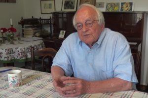 Alumnus Max Dehmel im Zeitzeugeninterview