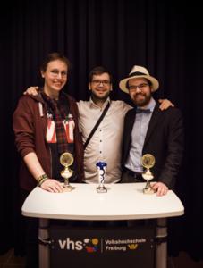 Philipp Schmidtke, Willy Witthaut und Julian Vaterrodt (Foto: Galón)