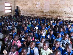 Alltag in einer öffentlichen Schule (Foto: Privat)