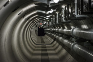 James Bond Tunnel: The process water ring (Photo: András Wekler)
