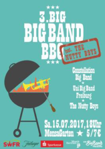 Einladung Big Big Band Barbecue