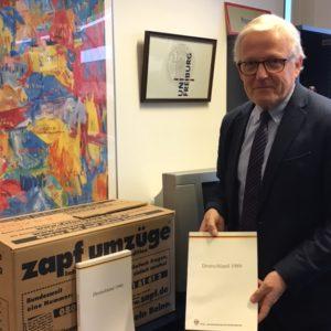 """Doku """"Deutschland 1989/1990"""" und Stifter Jochen Wolter"""