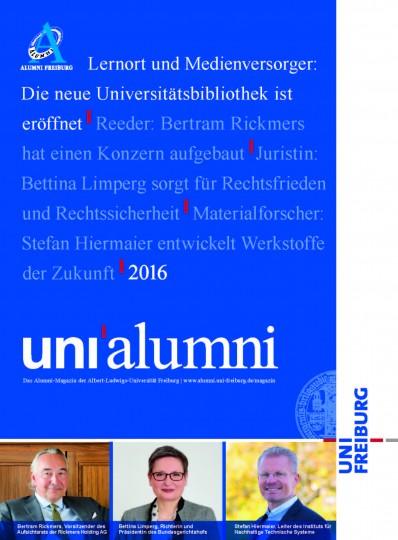 Das neue Alumni-Magazin.